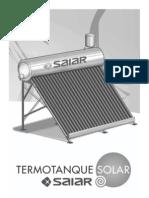 Manual Termo Solar Saiar