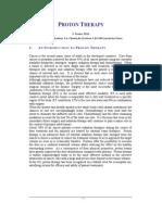 Proton Therapy White Paper