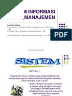 Managemen Sistem Informasi