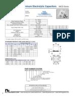 NIC Components NACS Series
