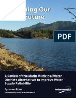 Sustaining Our Water Future