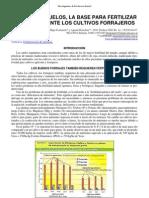 Analisis de Los Suelos, La Base Para Fertilizar Adecuadamente Los Cultivos Forrajeros