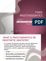 Fixed Prosthodontics_lesson 1