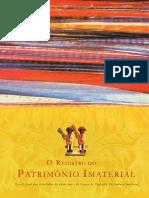 Livro Dossie O Registro Do Patrimonio Imaterial_1 Edicao