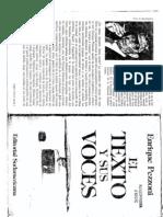 3-El Texto y Sus Voces. Pezzoni