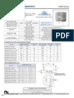 NIC Components NEXA Series