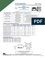 NIC Components NEXC Series