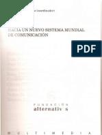 Enrique Bustamante Hacia un nuevo sistema mundial de comunicación. pp 333-355