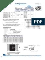 NIC Components NRC-P