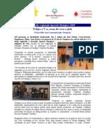 Raport Special Olympics 2009