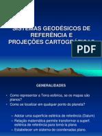 SISTEMAS GEODÉSICOS DE REFERÊNCIAcrea