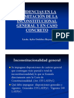 Inc i Eden c i as in Constitucion Ali Dad General