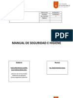 Manual de Seguridad e Higiene