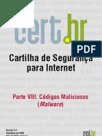 Cartilha Internet - Códigos Maliciosos