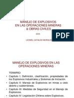 Manejo de Explosivos en Las Operaciones Mineras
