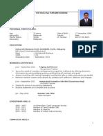 Theyagu Resume