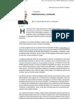 Indefiniciones y confusión - 05.06.2013 - lanacion.com