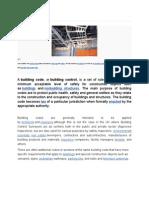 Building codes Definition.doc