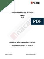 1237844289 Diseño Tridimensional en Autocad