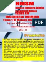 2013 - II Tema 01 - Metodo Cientifico - Finalizado