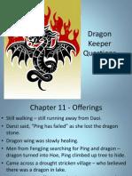dragon keeper chap 11-20questions