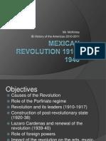 Mexican Revolution 1910 1940 Lecture (1)