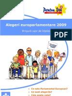 Alegeri Euro Parlamentare 2009