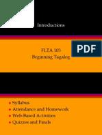 Flta 103 Intro