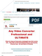 Any Video Converter Professional and Ultimate - Symbianize