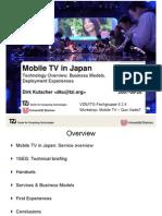 3-Kutscher-Mobile TV in Japan