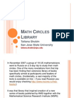 Math Circles Library