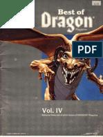 Best of Dragon Magazine - Vol IV