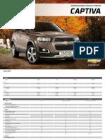 Chevrolet Captiva 2013 (Spanish)