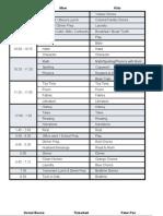 AO YR 2 Schedule 2009