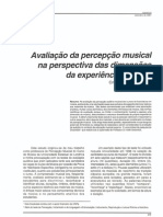 GROSSI, C. D. S. (2001). Avaliação da percepção musical na perspectiva das dimensões da experiência musical. Revista da ABEM, 6.
