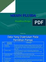 3. Pemilihan Pompa [2010-2011]