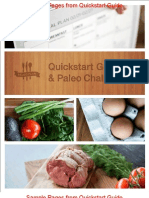 Sample Unbranded Paleo Plan Quickstart Guide and Paleo Challenge