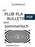 BULLETIN 2013 Sommerloch