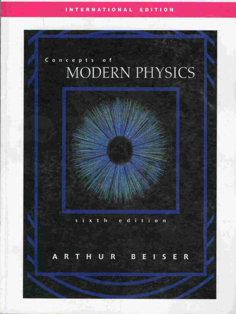 Concepts of modern physics 6th edition arthur beiser fandeluxe Images