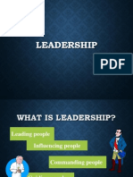 Leadership Syllabus