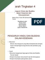 Pengaruh Hindu Buddha Dalam Kesenian Dan Kesusasteraaan T4