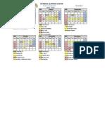 Untuk School Handbook School Calender July-Dec