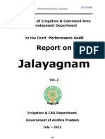Response-Audit Report on Jalayagnam-Vol.2