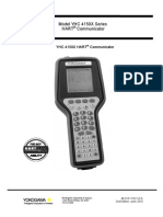 Hart Communicator YHC4150X Yokogawa Manual