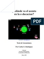 e-learning - Tesis de Licenciatura - Carlos Rodriguez
