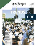 Trends - Ausgabe 15/2013 des strassenfeger