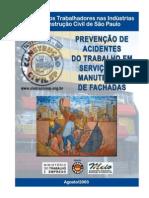 MANUAL DE SEGURANÇA EM MANUTENÇÃO DE FACHADAS