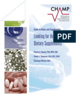 Dietary Supplements Guide