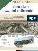Room Size Model Railroads