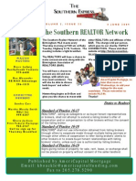 Southern Area Realtor Caravan 4 June 2009 Weekly Newsletter